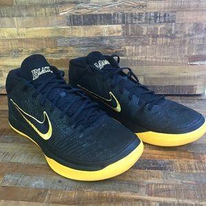 Nike Men's Kobe Black Mamba Basketball Sneakers.